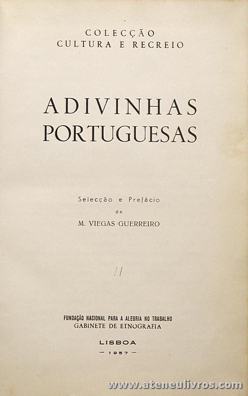 Adivinhas Portuguesas