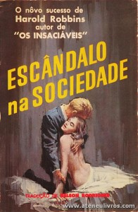 Harold Robbins - Escândalo na Sociedade «€5.00»