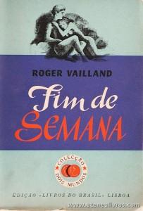 Roger Vailland - Fim de Semana «€5.00»