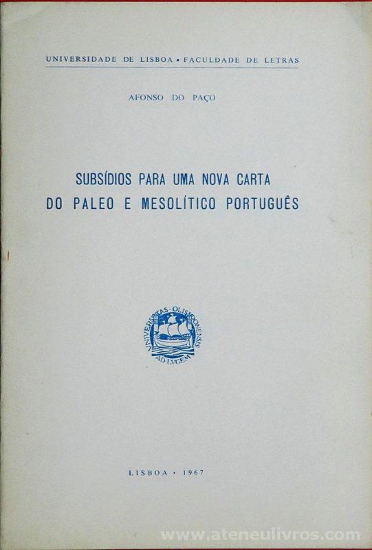 Subsídio Para Uma Nova Carta do Paleo e Mesolítico Português
