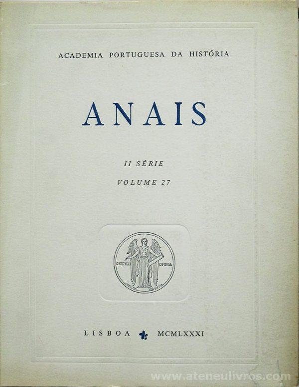 ( ) - Anais II Série Volume 27