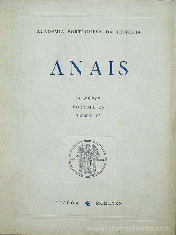 Anais II Série [Volume 26 Tomo II]