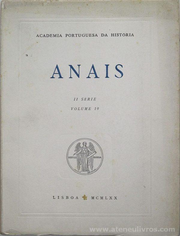 Anais II Série [Volume 19]