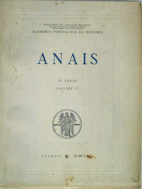 Anais II Série [Volume 21]