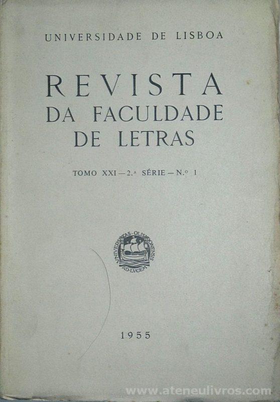 Revista da Faculdade de Letras - Tomo XXI - 2.ª série - N.º 1