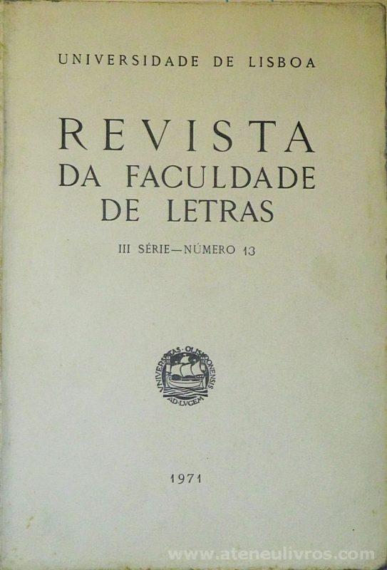 Revista da Faculdade de Letras - III.ª Série - N.º 11