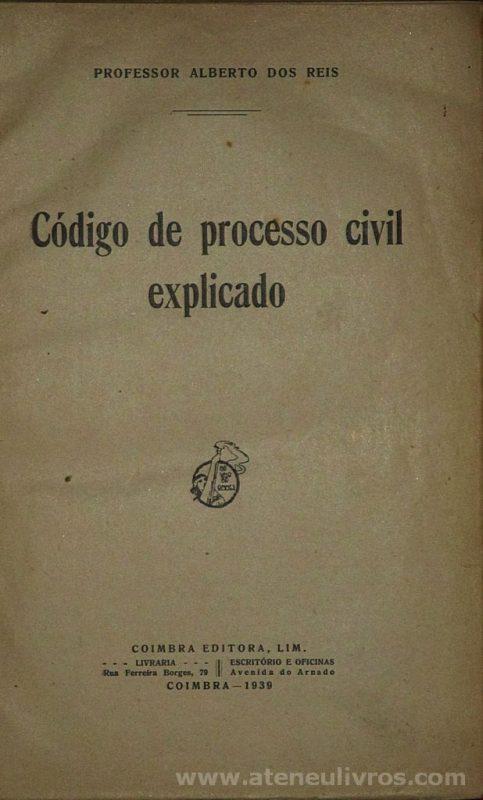 Código de Processo Civil Explicado